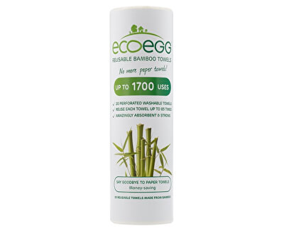 Ecoegg Bambusové utěrky 20 ks
