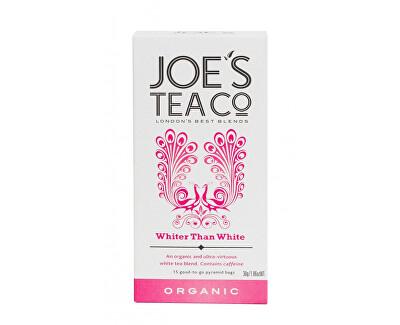 Joe´s Tea Co. Bílý čaj BIO 15 pyramidek