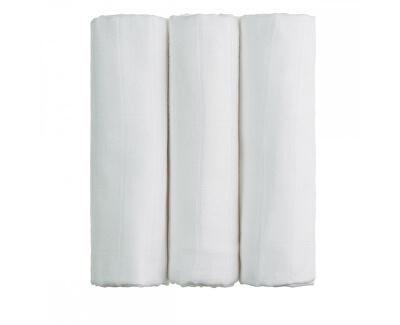 T-tomi BIO Bambusové pleny bílé 70 x 70 cm 3 ks