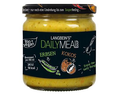 Daily Meal Bio polévka hrachová s kokosovým mlékem 350ml