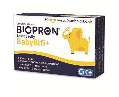 Biopron Laktobacily Baby BIFI+ 30 tob.