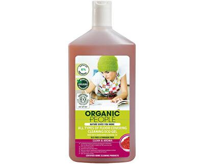 Organic People Čistící gel na všechny typy podlah 500 ml