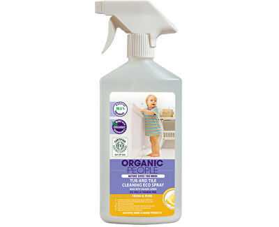 Organic People Eko sprej čistič na vanu a dlaždice 500 ml