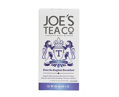 Joe´s Tea Co. English Breakfast BIO 15 pyramidek