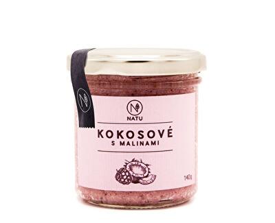 Natu Kokosové máslo s malinami 140 g
