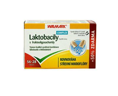 Walmark Laktobacily Complex s fruktooligosacharidy 56 tob. + 28 tob. ZDARMA