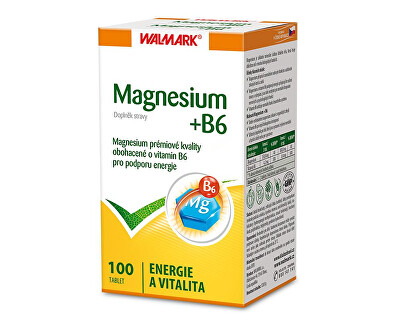 Walmark Magnesium + B6 100 tbl.
