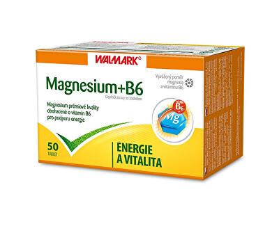 Walmark Magnesium + B6 50 tbl.