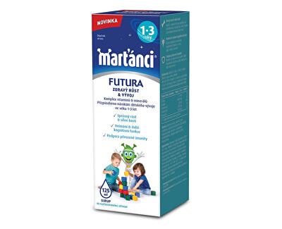 Marťánci Marťánci Futura sirup (1-3 roky) 125 ml