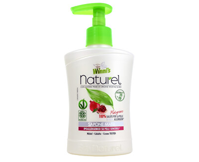 Winni´s NATUREL Sapone Mani Melograno tekuté mýdlo s granátovým jablkem 250 ml