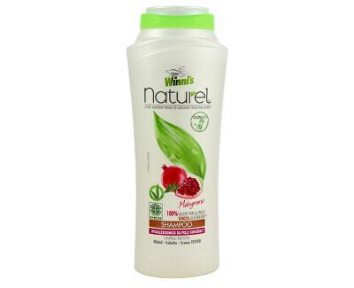Winni´s NATUREL Shampoo Melograno šampon s granátovým jablkem na suché vlasy 250 ml