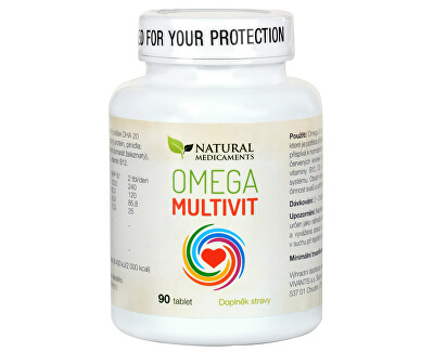 Natural Medicaments Omega Multivit 90 tabliet