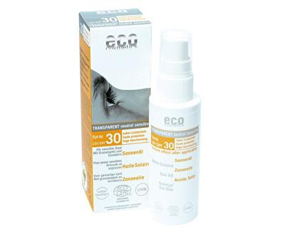 Opalovací olej ve spreji SPF 30 BIO (50 ml)