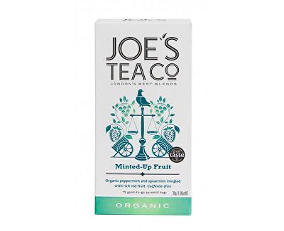 Joe´s Tea Co. Ovocný čaj s mátou BIO 15 pyramidek
