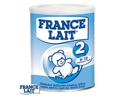 France Lait Pokračovací mléčná kojenecká výživa 6 - 12 měsíců 400 g