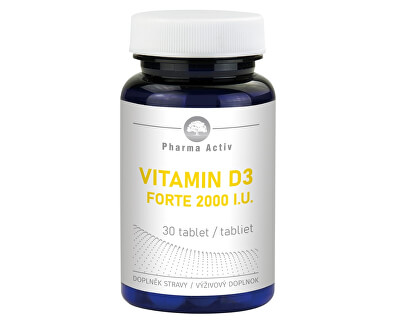 Vitamin D3 Forte 2000 I.U. 30 tablet