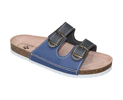 SANTÉ Zdravotní obuv dámská D/21T/910/925/BP šedo-modrá