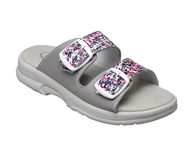 Zdravotní obuv dámská N/517/33/10M/19/BP grafiti-šedá