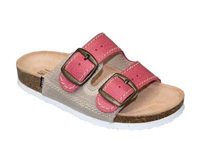 Zdravotná obuv detská D / 202 / C30 / S12 / BP červená (veľ. 27-30)
