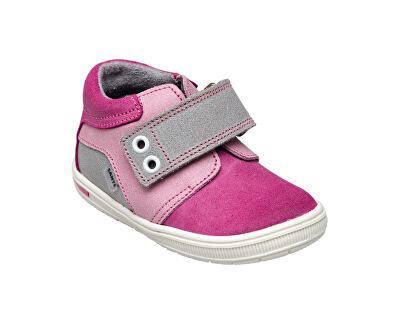 Zdravotná obuv detská N / 661/502/079/056/019 ružovo-šedá (veľ. 27-30)