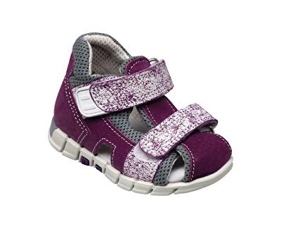SANTÉ Zdravotní obuv dětská N/810/401/S75/A75 fialová (vel. 19-26)
