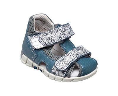 SANTÉ Zdravotní obuv dětská N/810/402/S86/A86 šedá (vel. 27-30)