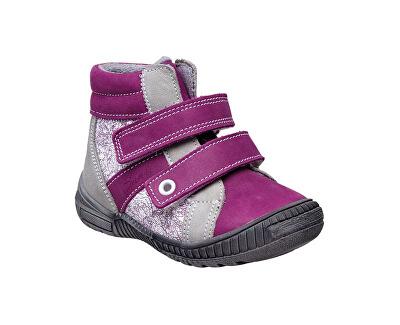 SANTÉ Zdravotní obuv dětská N/LONDON/203/C75/C13 fialová (vel. 27-30)