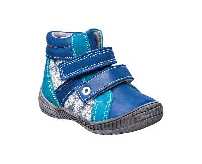SANTÉ Zdravotní obuv dětská N/LONDON/203/C84/C87 modrá (vel. 27-30)