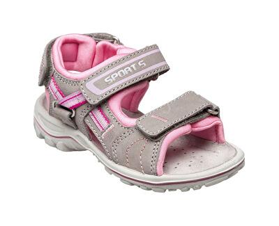 SANTÉ Zdravotní obuv dětská OR/25302 šedo-růžová