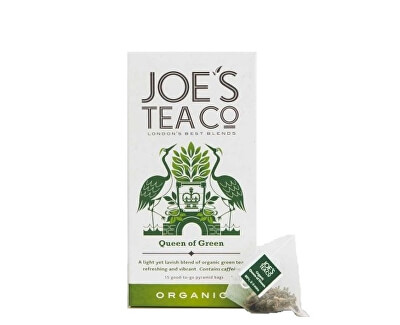 Joe´s Tea Co. Zelený čaj BIO 15 pyramidek