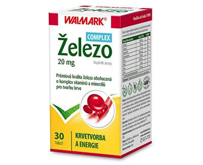 Walmark Železo 20 mg COMPLEX 30 tbl.