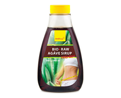 Wolfberry Agáve sirup BIO Premium 540 g / 400 ml<br /><strong>Agáve sirup</strong>