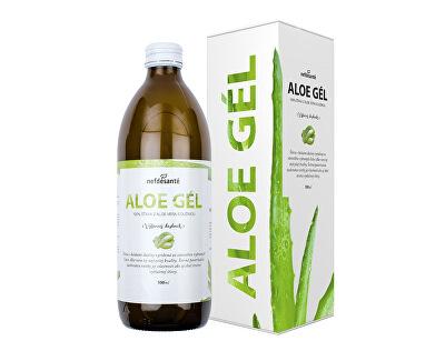 Nef de Santé Aloe gél - 100% šťava z Aloe vera s dužinou 500 ml