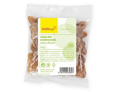 Wolfberry Amalaki kandizované 100 g<br /><strong>Amalaki kandované</strong>