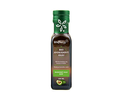 Wolfberry Avokádový olej BIO 100 ml<br /><strong>Avokádový olej</strong>