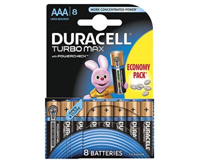 Duracell Baterie Turbo MAX AAA 2400 K8 Duralock