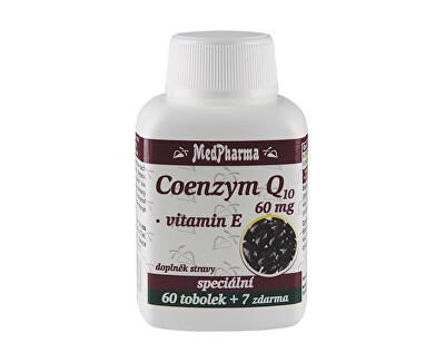 MedPharma Coenzym Q10 60 mg FORTE 60 tob. + 7 tob. ZDARMA