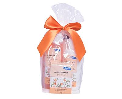 Dárkový balíček Rakytník (tělový šampon 250 ml, tělové mléko 200 ml, tuhé mýdlo 125 g)