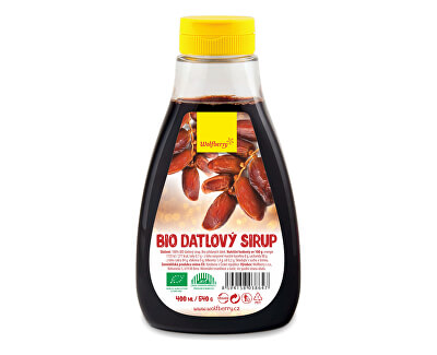 Wolfberry Datlový sirup BIO 400 ml/540 g<br /><strong>Datlový sirup</strong>