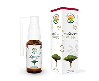 Salvia Paradise Dračí krev ústní sprej 20 ml<br /><strong>Dračí krev sprej</strong>