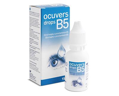 Ocuvers Drops oční kapky s provitamínem B5 15 ml