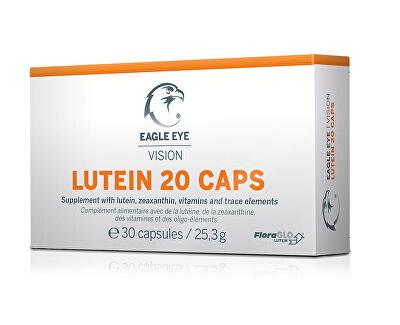 Eagle Eye Lutein 20, Vision Caps 30 kapslí - SLEVA - KRÁTKÁ EXPIRACE 30.4.2020