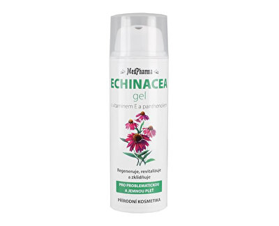MedPharma Echinacea gel pro problematickou a jemnou pleť 50 ml