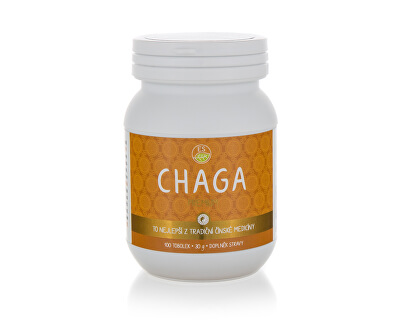 Empower Supplements Chaga PREMIUM 100 kapslí