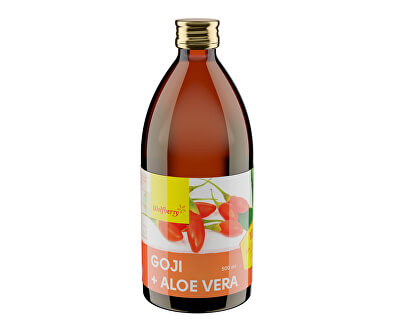 Wolfberry Goji + Aloe vera 500 ml<br /><strong>Goji + Aloe</strong>