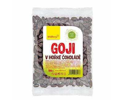 Wolfberry Goji v horkej čokoláde 100 g<br /><strong>Goji v hořké čokoládě</strong>