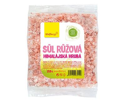 Wolfberry Himalájska soľ ružová hrubá 250 g<br /><strong>Himalájská sůl</strong>