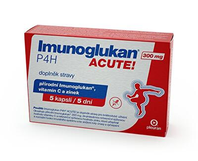 Imunoglukan P4H® ACUTE 300 mg 5 kapsúl