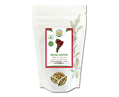 Salvia Paradise Káva - Brasil Santos zelená nepražené<br /><strong>Brasil Santos zelená</strong>