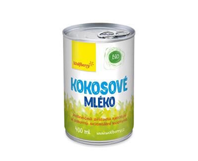 Wolfberry Kokosové mlieko BIO 400 ml<br /><strong>Kokosové mléko</strong>